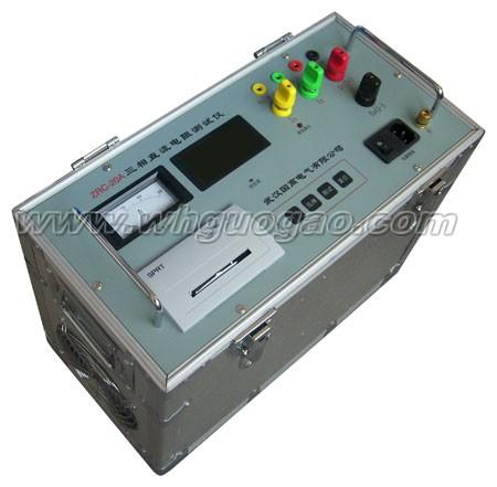 于大中型变压器直流电阻测试
